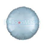 Balon folie Albastru pastel, 43 cm 39910