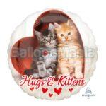 Balon folie Hugs & Kittens 43 cm 36381