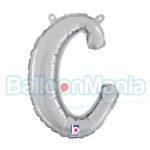 Balon folie litera c argintiu 34703S