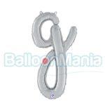 Balon folie litera g argintiu 34707S
