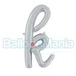 Balon folie litera k argintiu 34711S