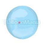 Balon folie Orbz albastru deschis 38 x 40 cm 39111