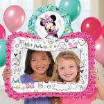 Balon folie rama foto Minnie 110407