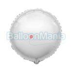 Balon folie Argintiu, 60 cm 406500/P