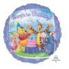 Balon folie Winnie the Pooh 1st birthday 45 cm 09427