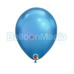 Baloane latex Chrome Albastru 58272.05