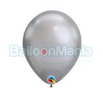 Baloane latex Chrome argintiu 58270.05