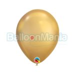 Baloane latex Chrome auriu 58271.05