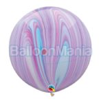 Balon latex, superagata fashion, 75 cm 55378
