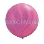 Balon latex, superagata roz- violet , 75 cm 63758