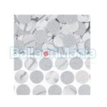 Confeti rotund Argintiu folie/ hartie, 63 gr 360220-18