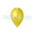Balon latex metalizat galben, 26 cm GM90.30