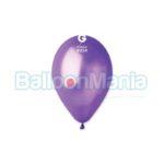 Balon latex metalizat mov, 26 cm GM90.34