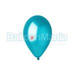 Balon latex metalizat albastru inchis, 26 cm GM90.36