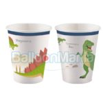 Pahare carton Dinozauri, 8/set 9903971