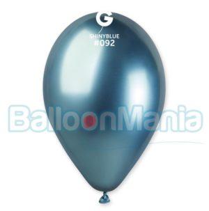 Baloanele sunt fabricate din cauciuc natural si sunt 100% biodegradabile. Setul contine 10 de baloane. Baloanele Chrome aduc un plus de eleganta oricarui tip de eveniment datorita culorii si al efectului metalic.