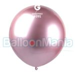 Balon latex shiny roz, 48 cm GB150/91