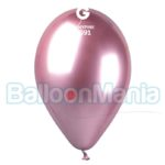 Balon latex shiny roz, 32 cm GB120/91