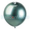 Balon latex shiny verde, 48 cm GB150/93