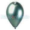 Balon latex shiny verde, 32 cm GB120/93