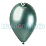 Balon latex shiny verde, 32 cm GB120/93