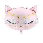 Balon folie Cap pisica, 50x40cm FB47