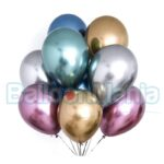 Balon latex shiny mix, 32 cm GB120.MX