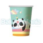 Pahare carton Panda, 6/set PF-KRP9