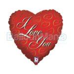 Balon folie 24K Love, 46 cm 16756