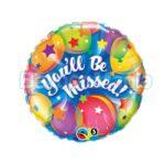 Balon folie You'll be missed, 45 cm 18419