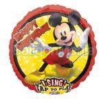 Balon muzical de folie  Mickey Forever, 81 cm 40703