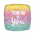 Balon folie Thinking of you, 45 cm 41161