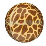 Balon folie Orbz cu print Girafa, 38 x 40 cm 42108