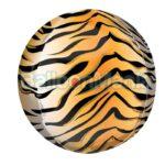 Balon folie Orbz cu print Tigru, 38 x 40 cm 42110