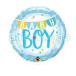 Balon folie Baby Boy, 45 cm 85901