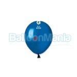 Balon latex metalizat albastru marin, 13 cm AM50.54