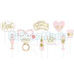 Set accesorii foto Bride to Be, 10 elemente 63678