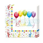 Servetele Happy Birthday 20/set 81285