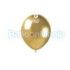 Balon latex shiny auriu, 13 cm AB50.88