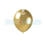 Balon latex shiny auriu, 13 cm AB50.88