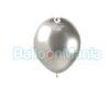 Balon latex shiny grafit, 13 cm AB50.90