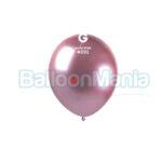 Balon latex shiny roz, 13 cm AB50.91