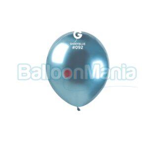 Balon latex shiny albastre, 13 cm AB50.92