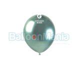 Balon latex shiny verde, 13 cm AB50.93
