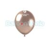 Balon latex shiny roz gold, 13 cm AB50.96