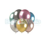 Balon latex shiny mix, 13 cm AB50.MX