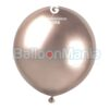 Balon latex shiny roz gold, 48 cm GB150/96