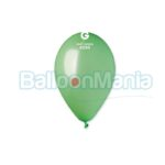 Balon latex metalizat verde menta, 26 cm GM90.94