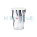 Pahare carton argintiu 6/set KPP35-018