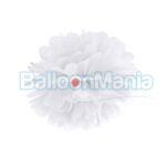 Pompon alb 35 cm, PP35-008